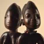 Paire de statuettes Ibeji Yoruba, Nigéria