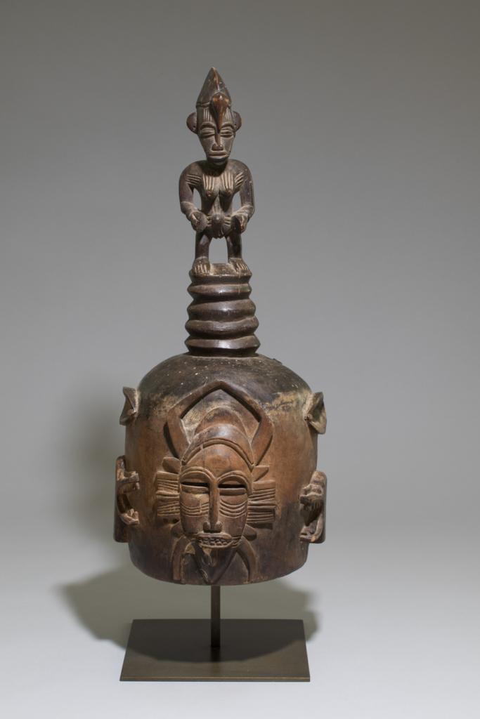 Masque heaume, double faces Senoufo, Côte d'Ivoire