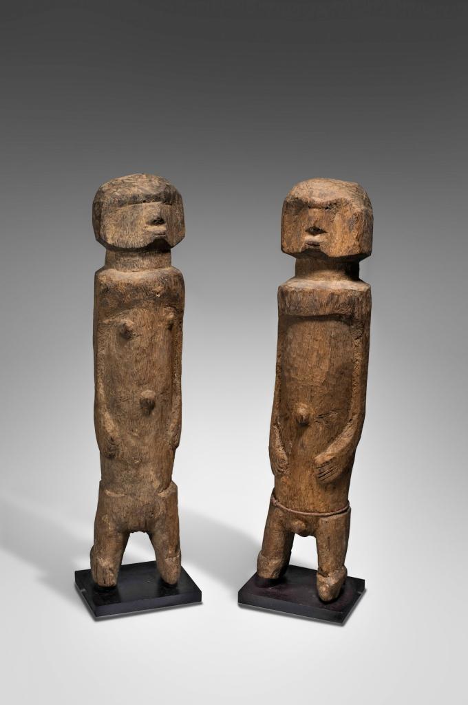 Paire de statues
