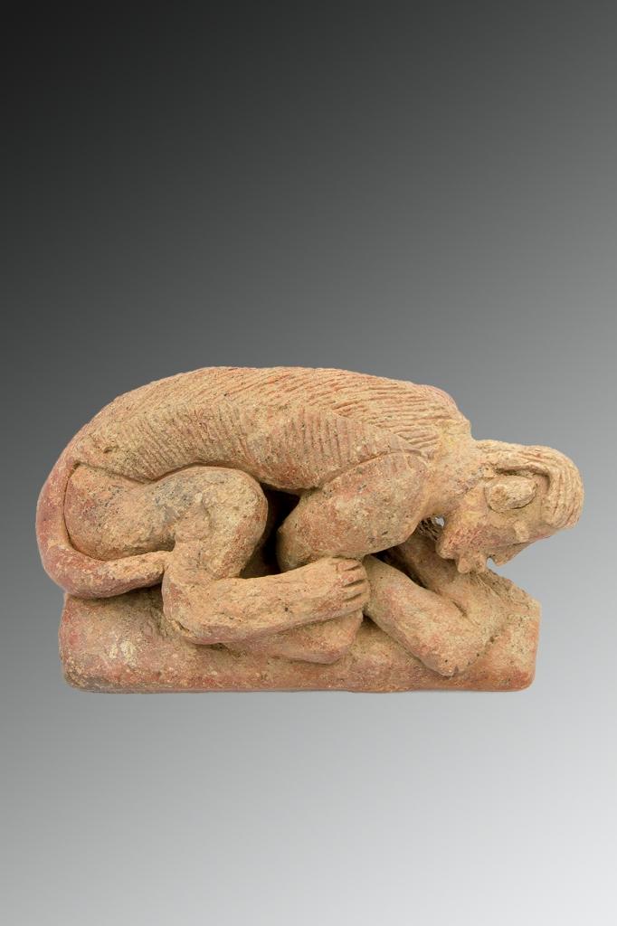 Sculpture antropo-zoomorphe